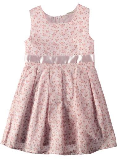 Çiçek Desenli Elbise-Asymmetry